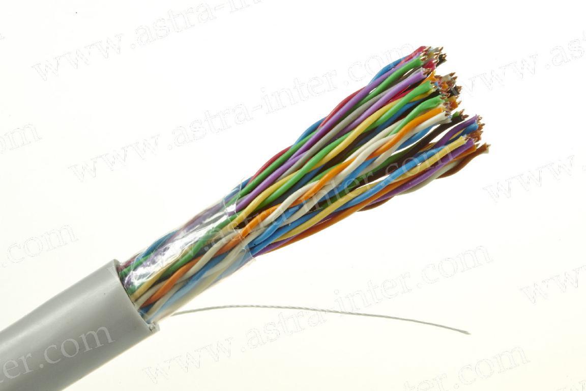 Кабель  UTP 25х2  в/пара 5 категории IT CONNECT