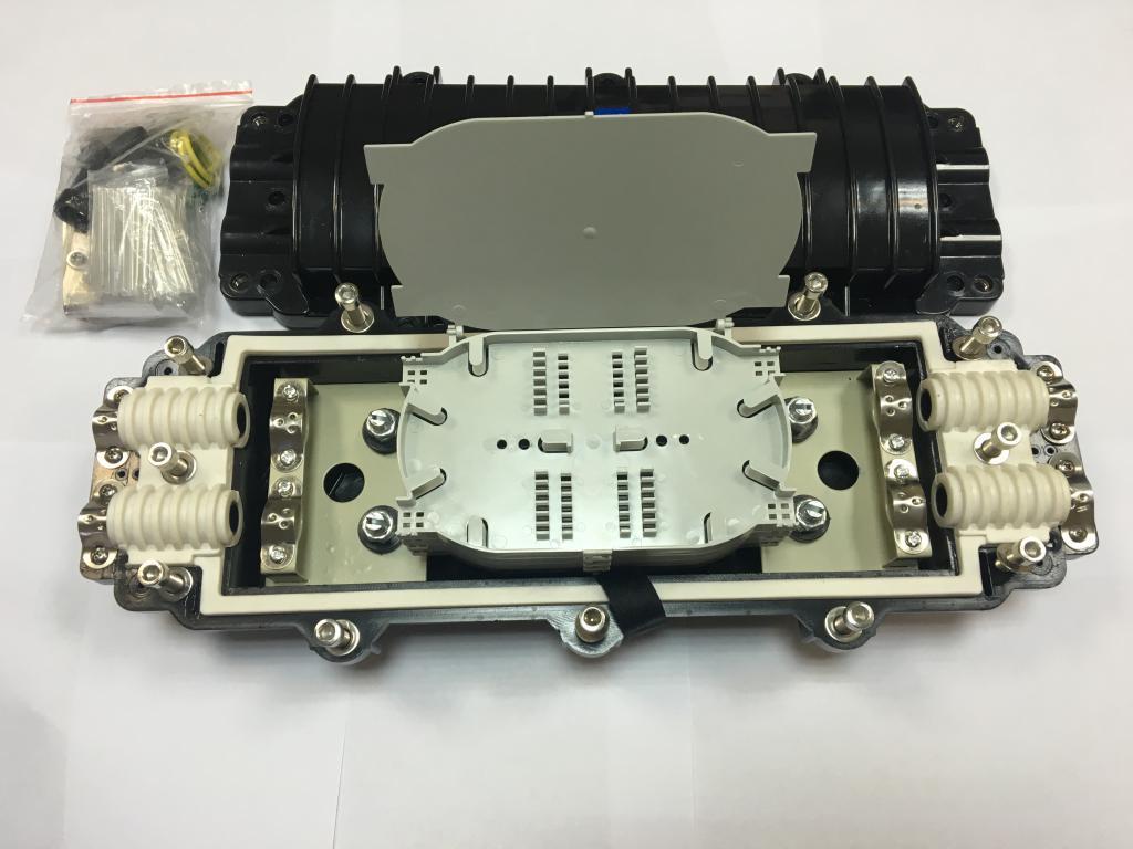 Муфта на  96 оптич. волокон, проходная,  GPJ-09