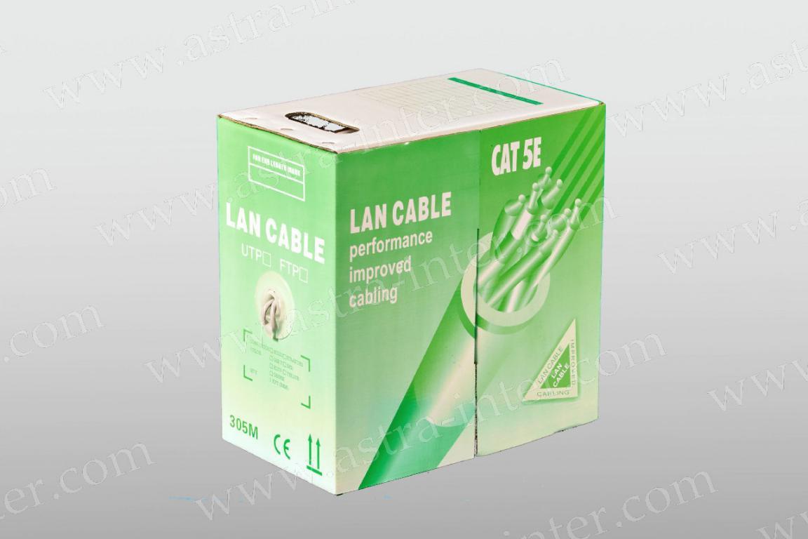 Кабель UTP 4х2 24AWG в/пара 5 категории LANCABLE