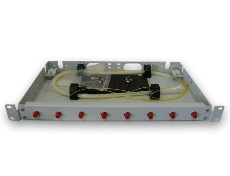 Корпус кросса 1U-SC/FC с лицевой панелью (8,16,24,32п)