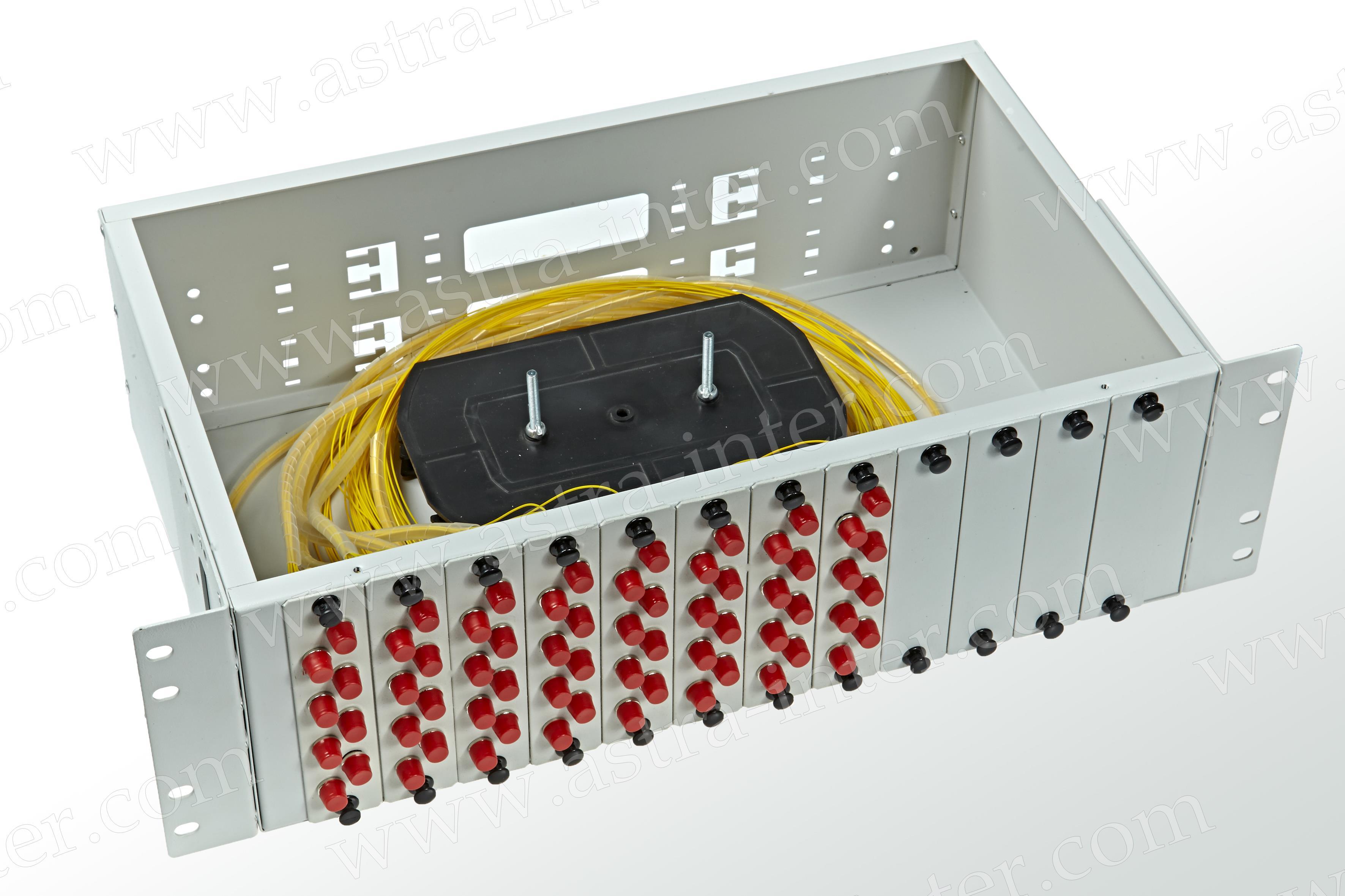Оптический кросс в стойку R64-3U-FC-64