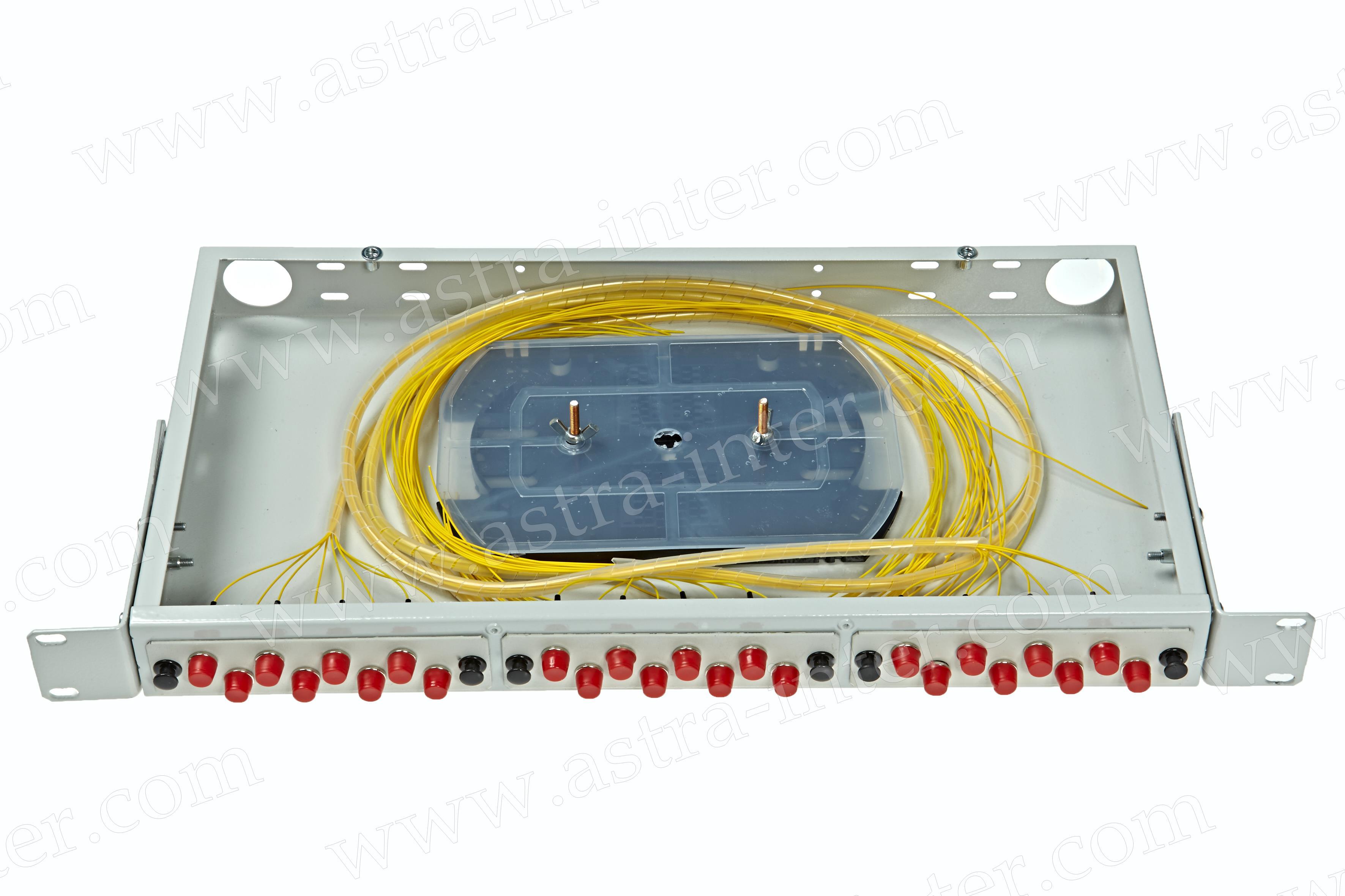 Оптический кросс в стойку R24-1U-FC-24