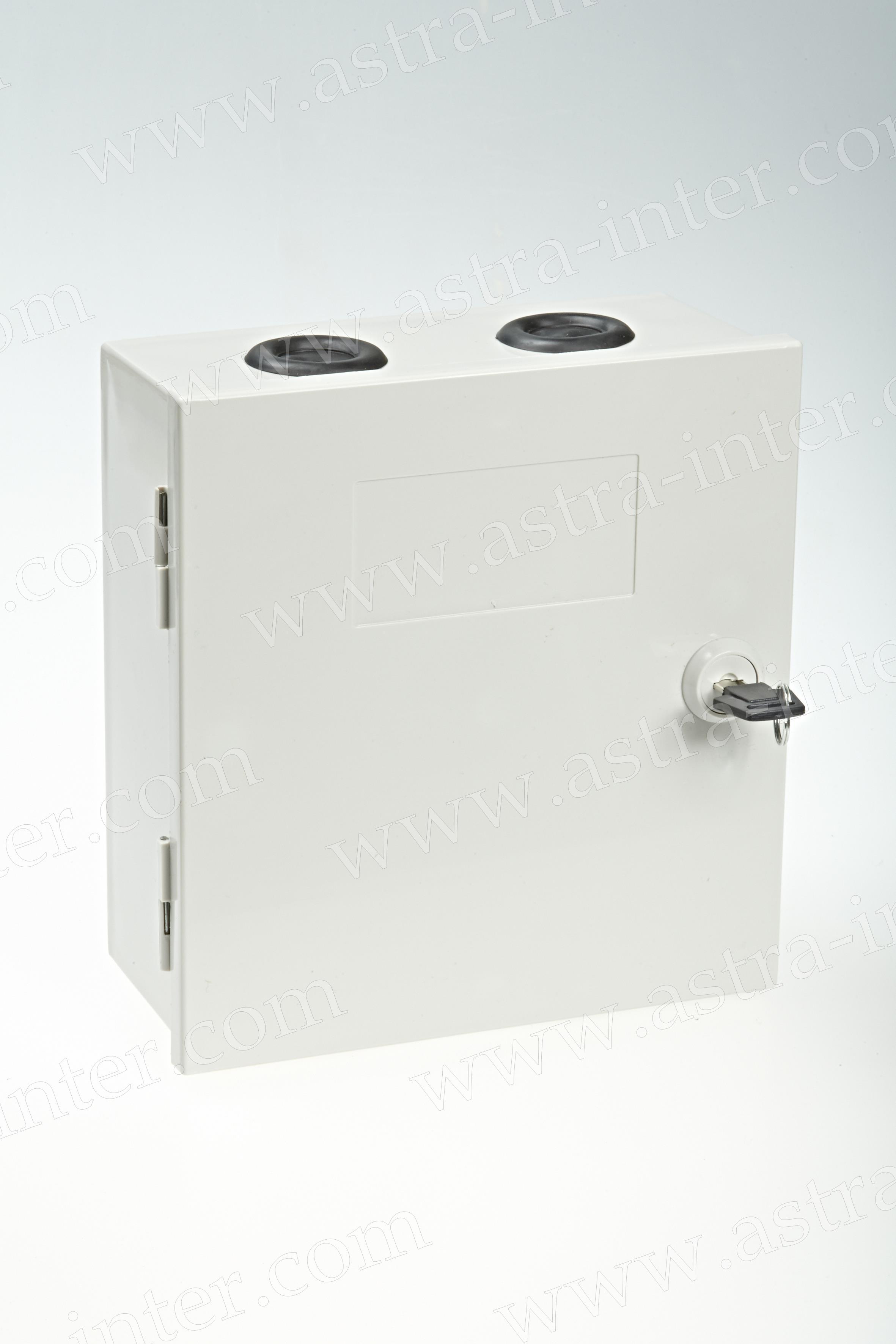 6. Коробка распределительная под установку 30 плинтов типа KRONE. Пластик.