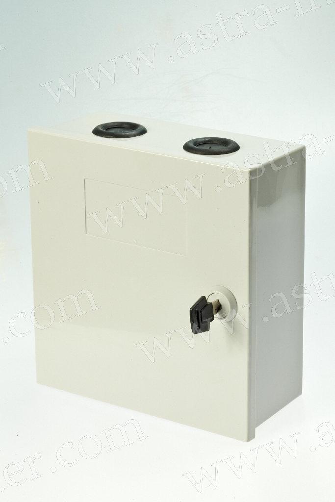 Коробка распределительная на 50 пар с замком(пластик, В180 Г75 Ш170) LANMAX