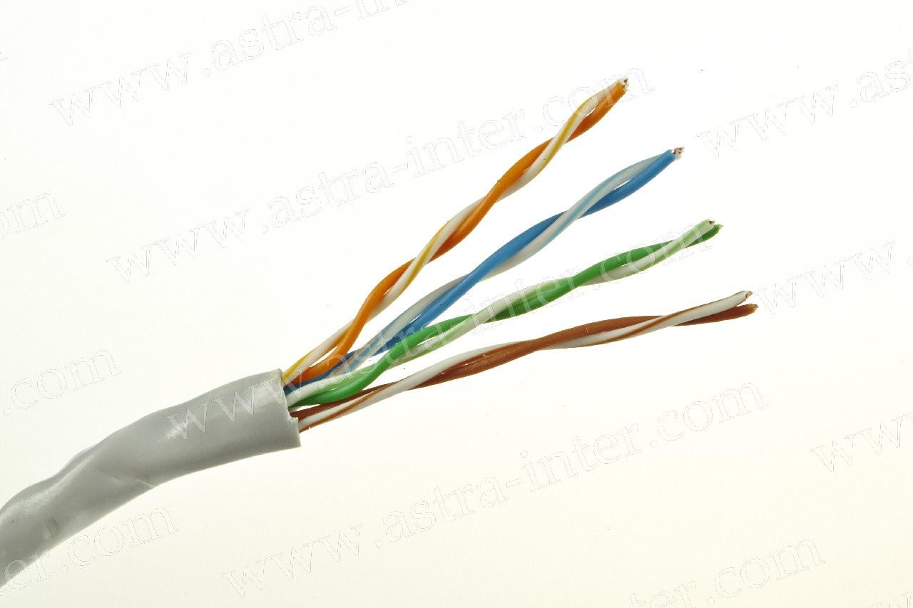 Кабель UTP 4х2 24AWG в/пара 5е категории 305м IT CONNECT