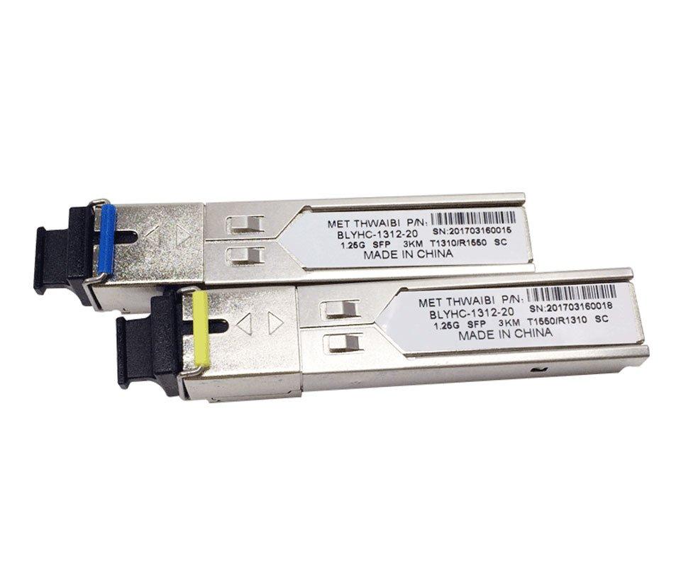 Модуль оптический одноволоконный SFP-WDM-03 км- 1,25 Гб/с-SC (пара)