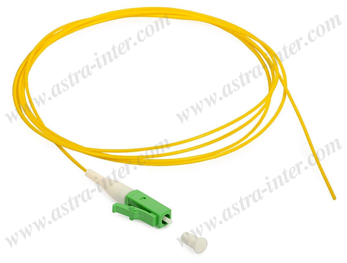 Оптоволоконный пигтейл LC/АPC SM 1,5 м