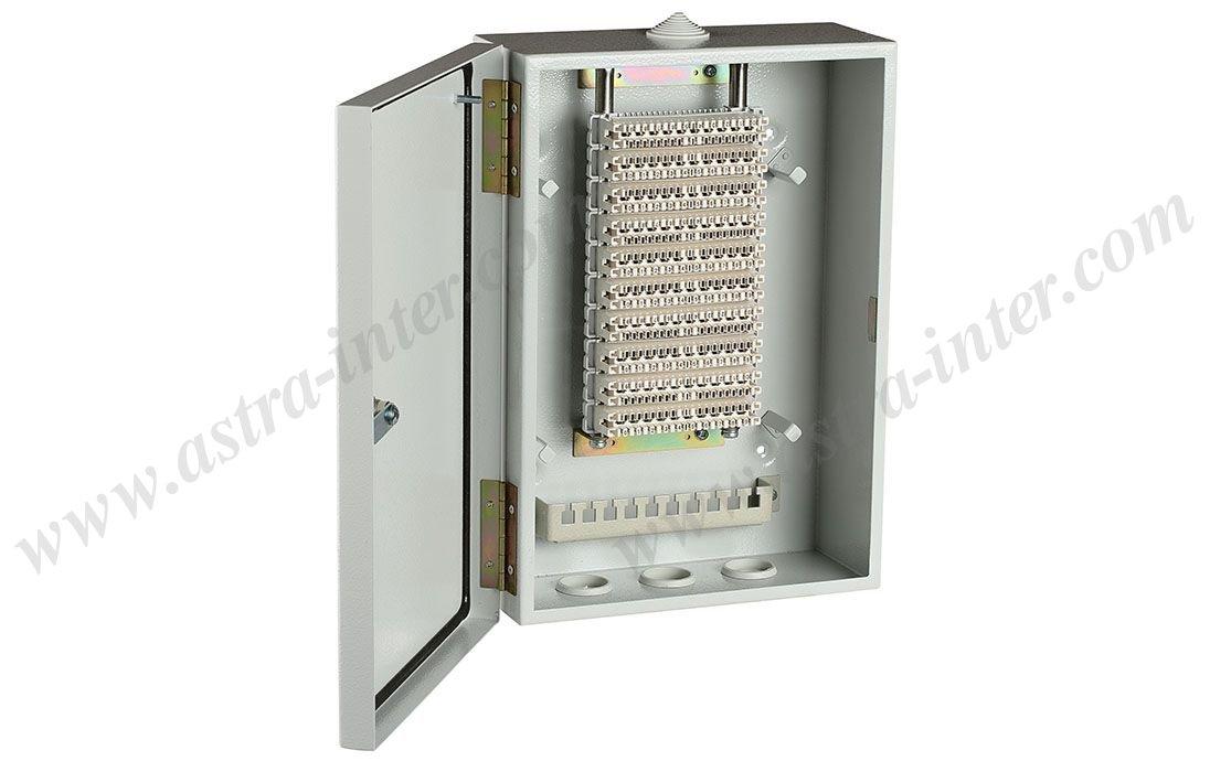 Шкаф настенный ШНР-100. Под установку 10 плинтов типа KRONE. Металл