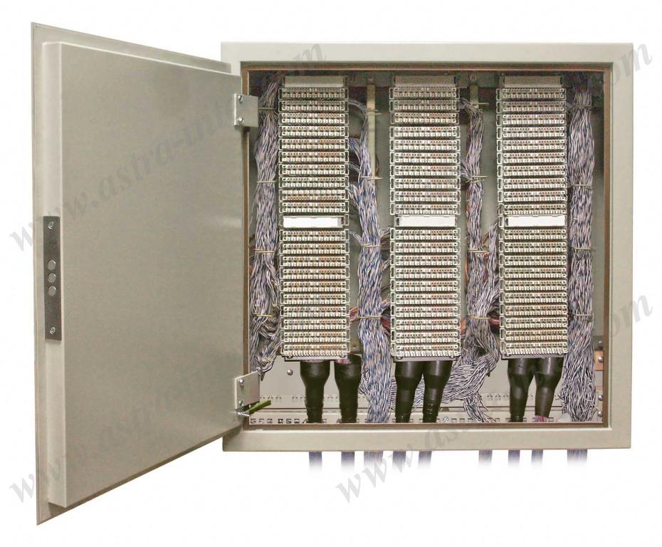 Шкаф настенный ШНР-600. Под установку 60 плинтов типа KRONE. Металл